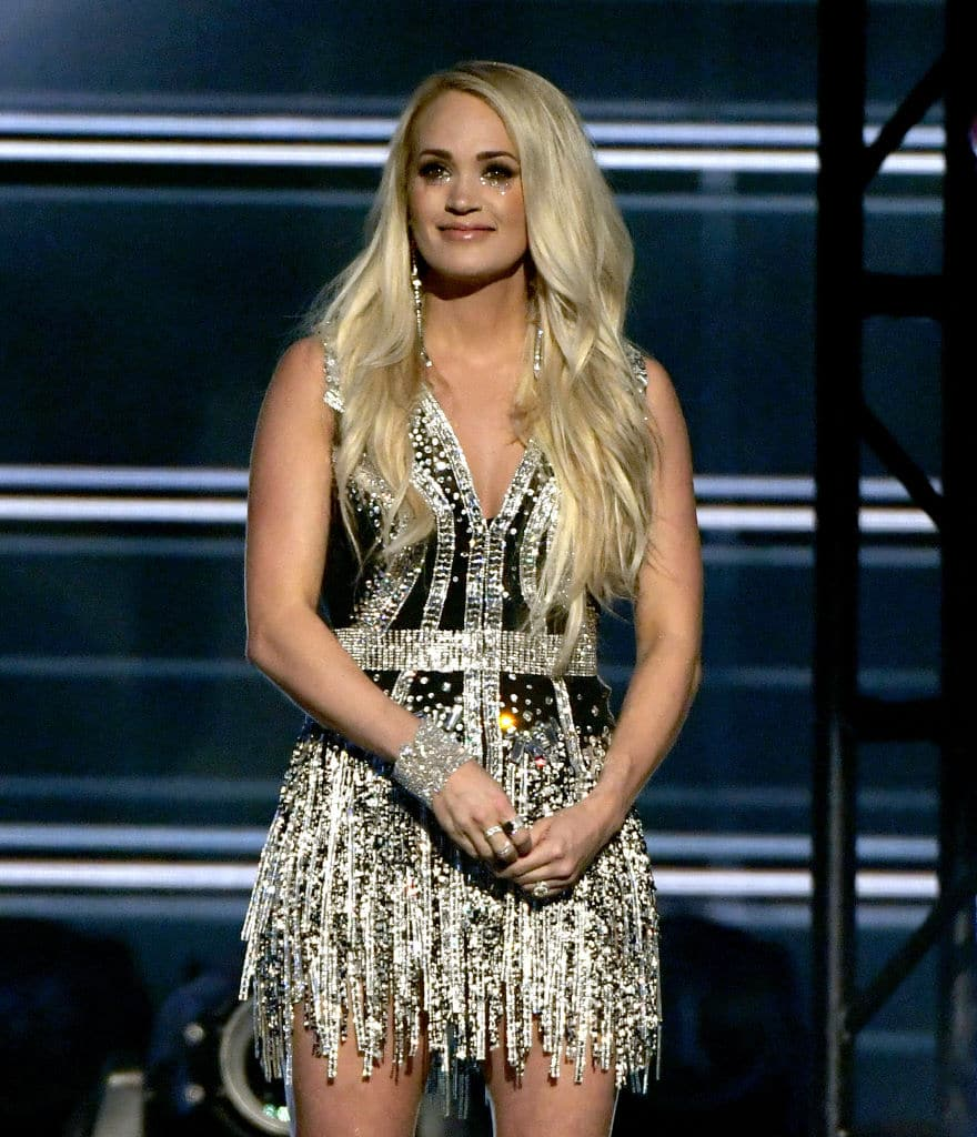 Carrie Underwood performs onstage during the 53rd Academy of Country Music Awards (Photo by Ethan Miller/Getty Images)