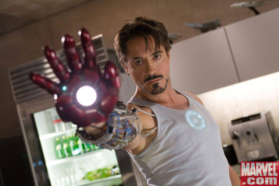 Robert as Tony Stark aka the Iron Man (Marvel)