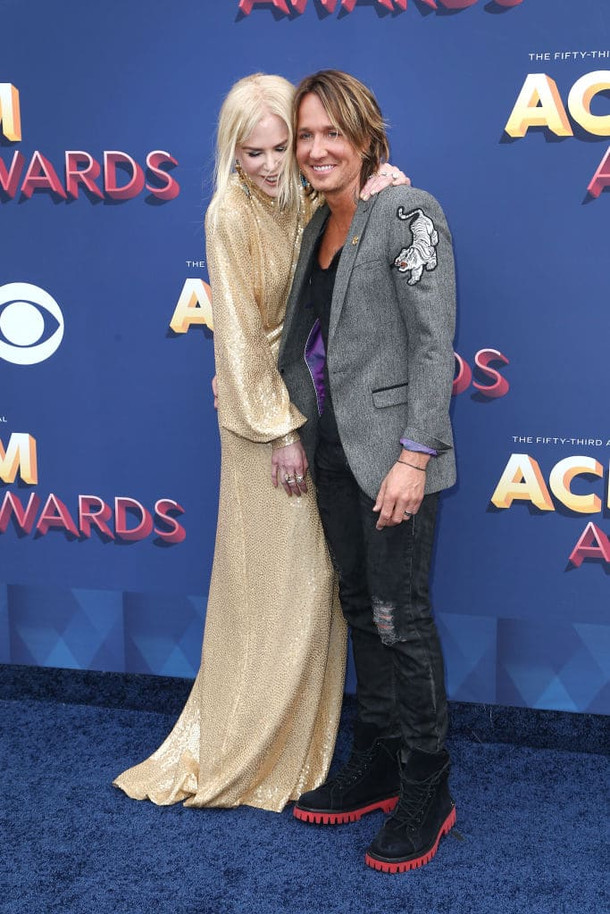 Always better together: Nicole Kidman and Keith Urban Source: Getty Images