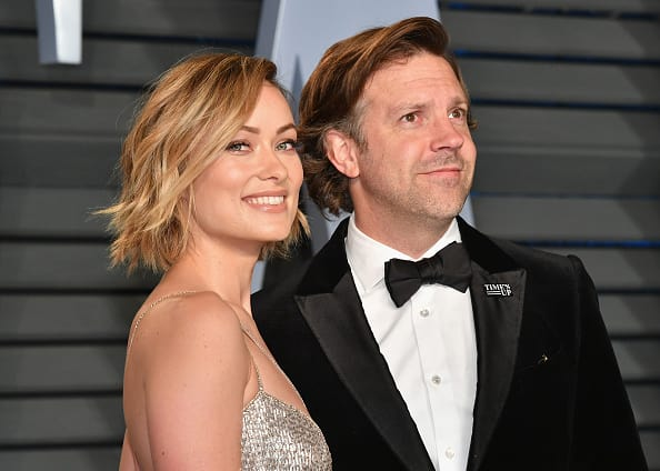 Olivia Wilde and fiance Jason Sudeikis(Source: Getty Images)