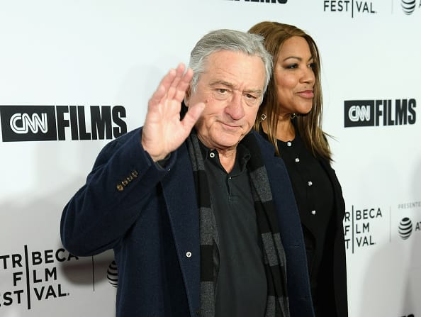 Robert De Niro and Grace Hightower attend the Opening Night Gala of 'Love, Gilda' - 2018 Tribeca Film Festival at Beacon Theatre on April 18, 2018 in New York City. (Photo by Dimitrios Kambouris/Getty Images for Tribeca Film Festival)