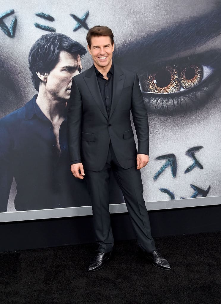 Tom cruise attends the 'The Mummy' New York Fan Eventat AMC Loews Lincoln Square on June 6, 2017 in New York City. (Photo by Jamie McCarthy/Getty Images)