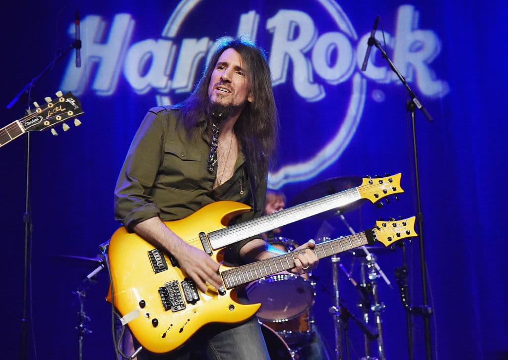 Currently part of progressive rock group Sons of Apollo, Thal also composes music for TV, film and videogames. (Getty Images)