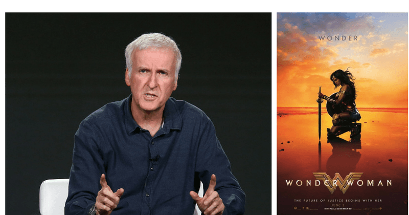 James Cameron has disputed against the idea of WonderWoman being called feminist. (GettyImages)
