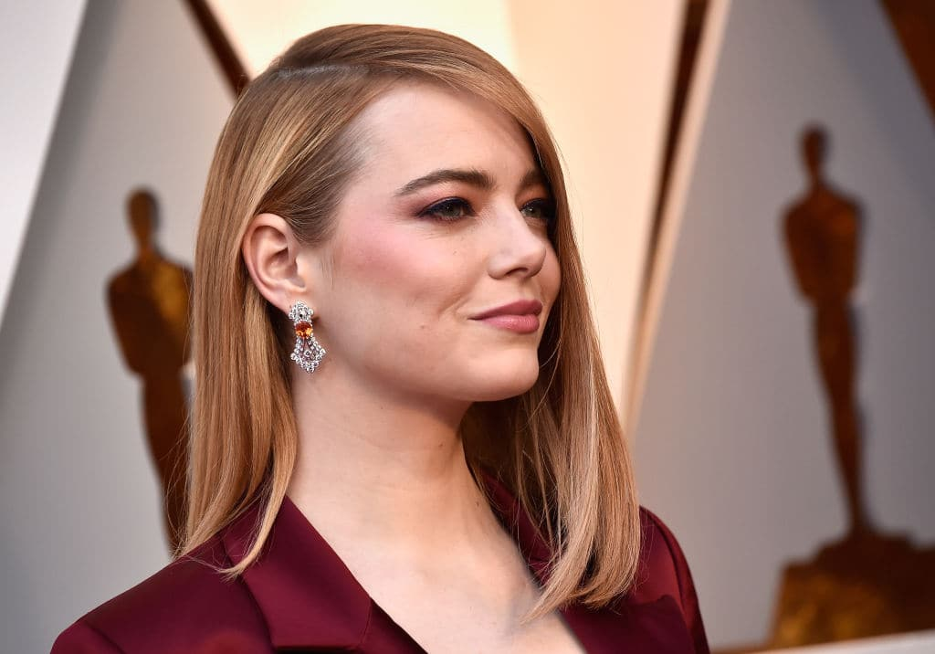 The world's highest-paid actress, Oscar-winner Emma Stone, earned $26 million over the 12-month period. That's still less than half of the whopping $68 million that the highest paid actor, Mark Wahlberg made. (Photo by Frazer Harrison/Getty Images)