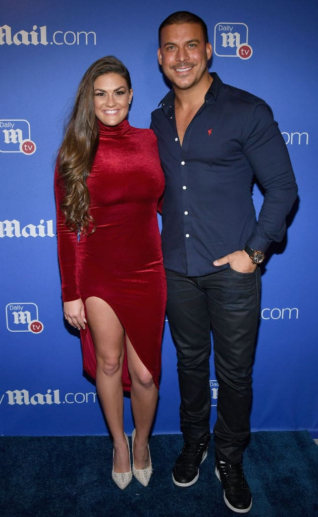 Brittany Cartwright (L) and Jax Taylor (R) (Photo by Slaven Vlasic/Getty Images for Daily Mail)