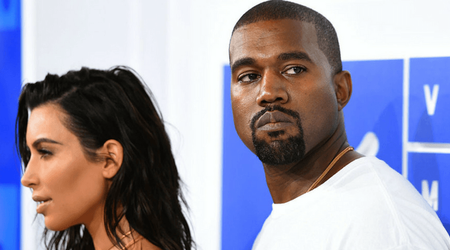 Kim Kardashian is trying very hard to do damage control after Kanye West's tweets