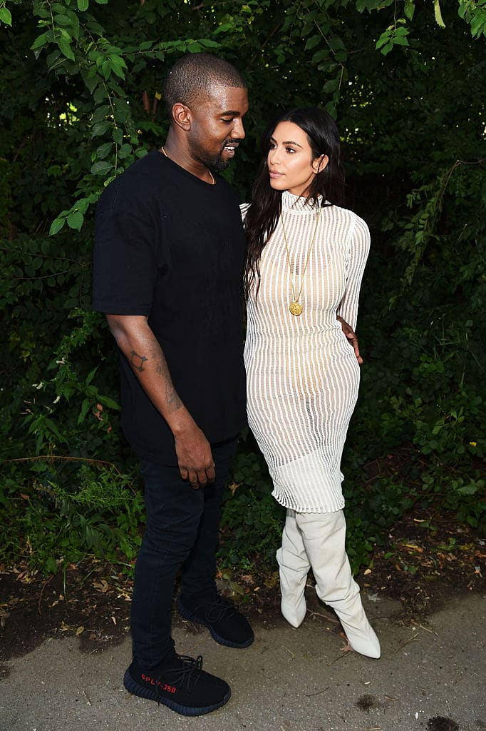 Kanye and Kim (Source: Getty Images)