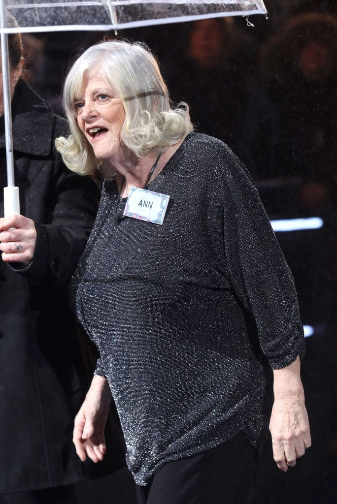 Ann Widdecombe enters the 'Celebrity Big Brother' House at Elstree Studios on January 2, 2018 in Borehamwood, England. (Photo by Tim P. Whitby/Getty Images)