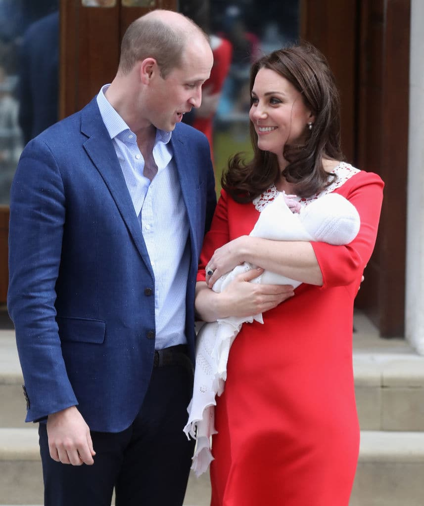 The name of the baby might be Prince Albert (Photo by Chris Jackson/Getty Images)