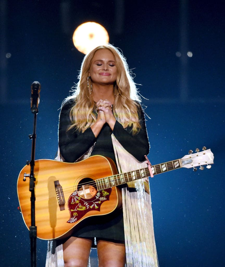 Recording artist Miranda Lambert performs during the 52nd Academy of Country Music Awards at T-Mobile Arena on April 2, 2017 in Las Vegas, Nevada. (Photo by Ethan Miller/Getty Images)