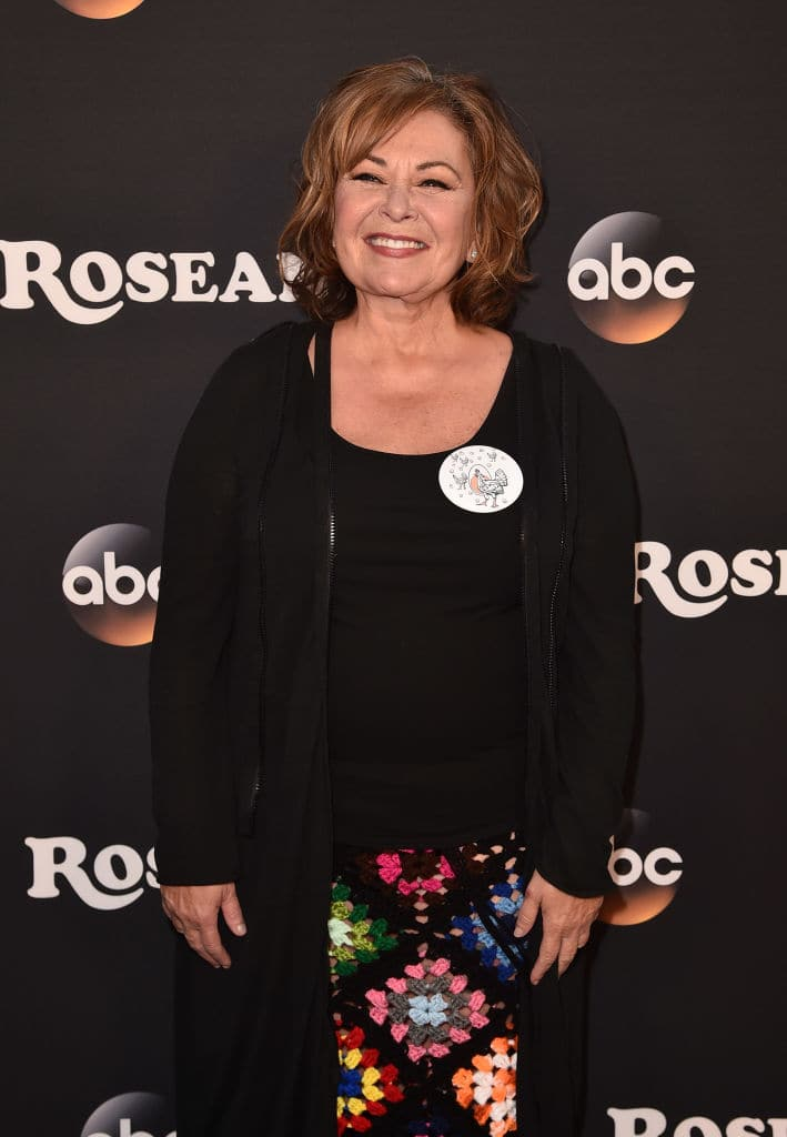 Roseanne talks about running for Prime Minister (Photo by Alberto E. Rodriguez/Getty Images)