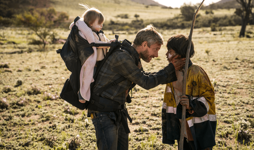 'Cargo' also focuses on Andy's unlikely friendship with Thoomi (Source: Netflix)