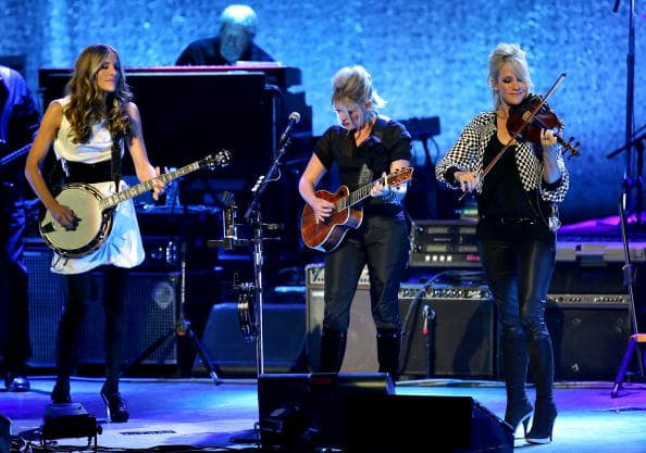 The Dixie Chicks have been criticized for their comments and suffered financially (Photo by Lisa Blumenfeld/Getty Images)