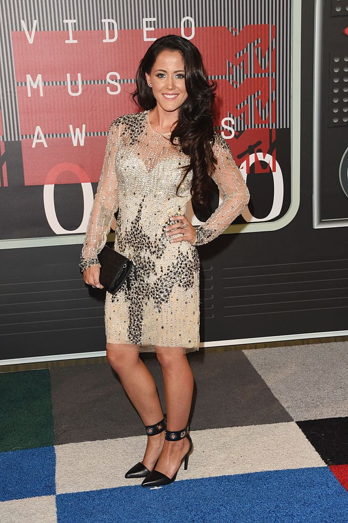 TV personality Jenelle Evans attends the 2015 MTV Video Music Awards at Microsoft Theater on August 30, 2015 in Los Angeles, California. (Photo by Jason Merritt/Getty Images)