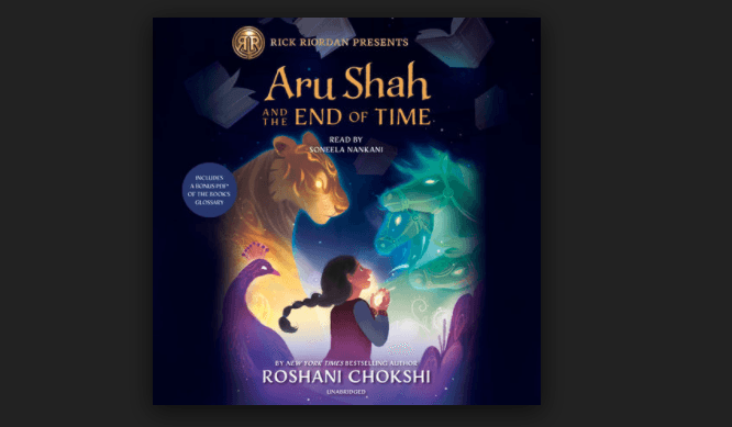 The book Aru Shah and the End of Time