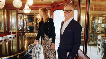 Watch Tommy and Dee Hilfiger give a tour of their stunning Plaza Hotel apartment
