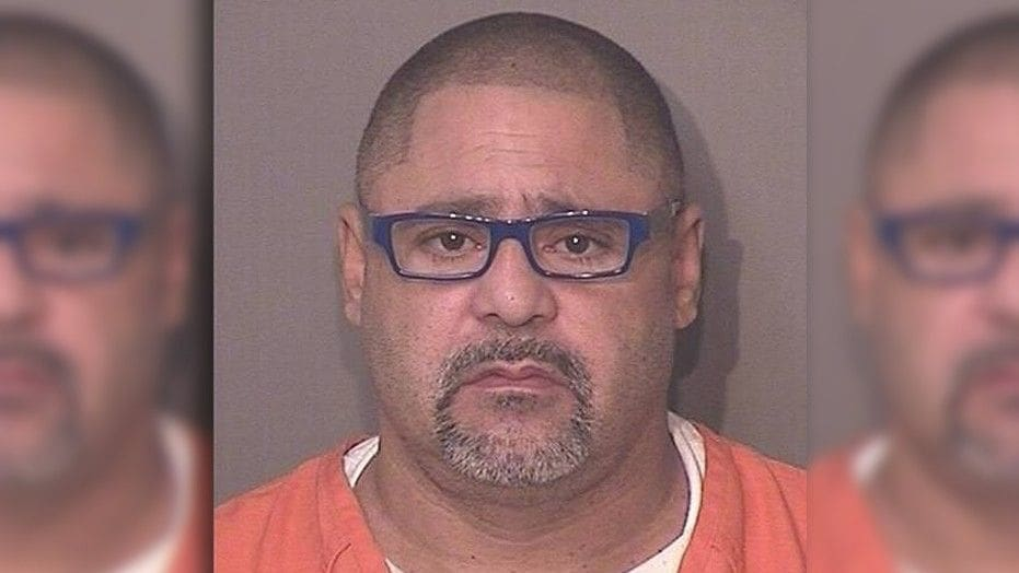 "Jorge Porto-Sierra, 50, was charged Thursday with four counts of premeditated murder, after police say he tried to ""barbecue"" sex offenders to death.  (Osceola County Jail)"