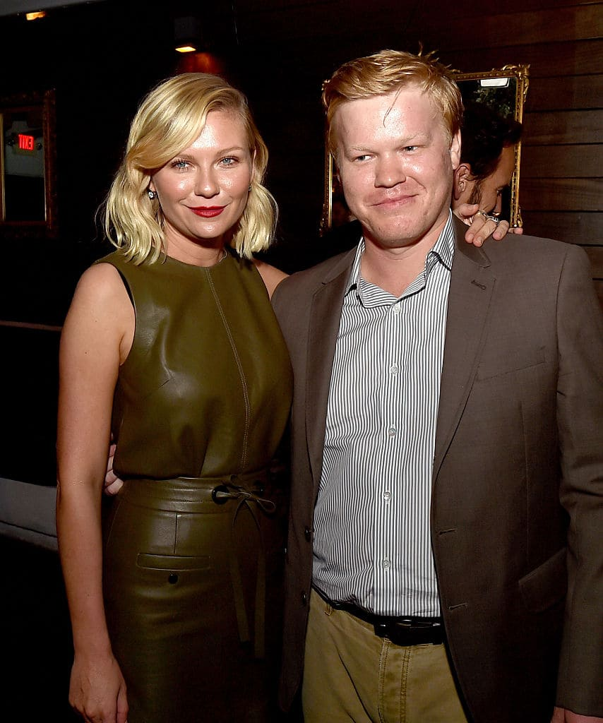 Kirsten Dunst (L) and actor Jesse Plemons (Photo by Kevin Winter/Getty Images)