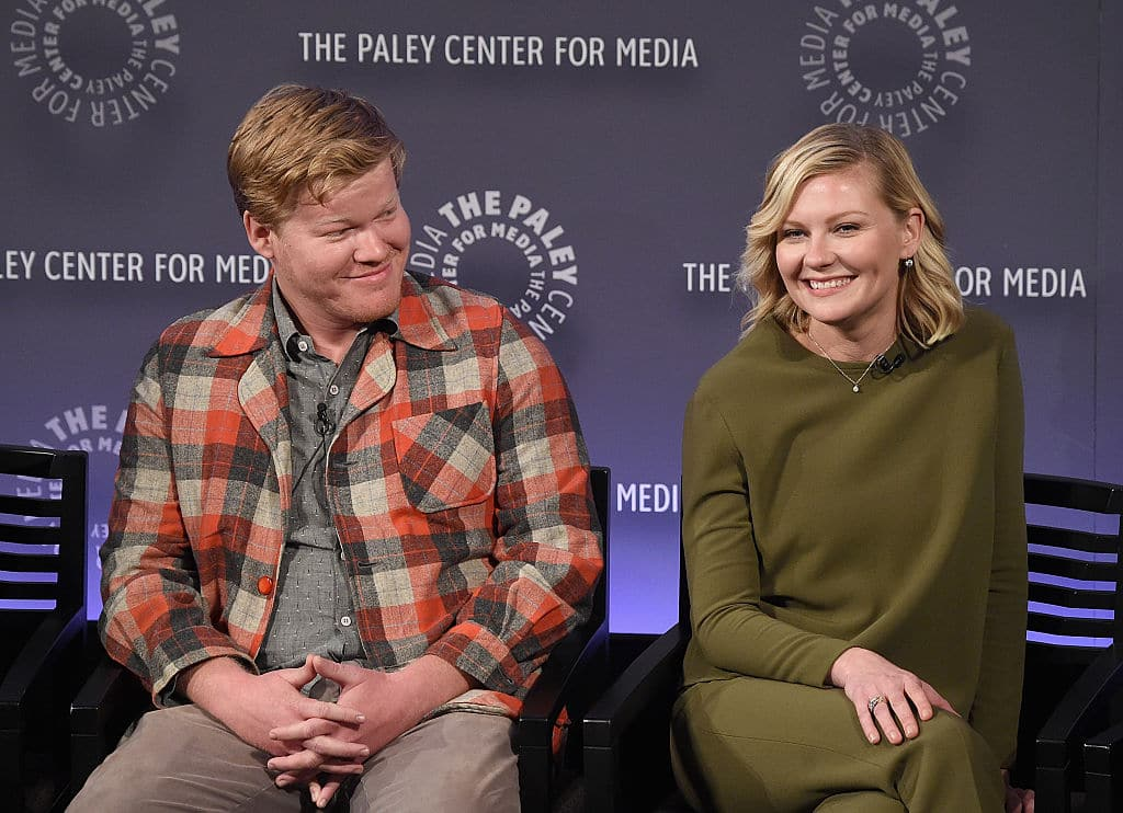 Jesse Plemons and Kirsten Dunst attend PaleyFest New York 2015  (Photo by Jamie McCarthy/Getty Images)