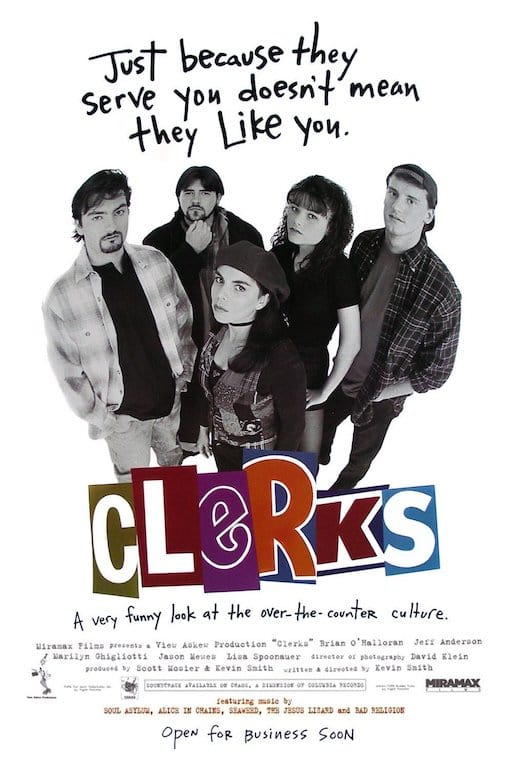 Kevin Smith's 1994 cult film 'Clerks' is what kicked off the 'View Askewniverse', establishing a market for his unique brand of comedy. (Image Source: Wikimedia)