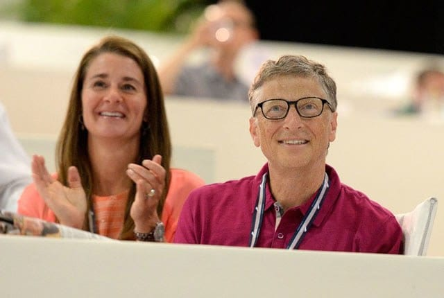 Melinda and Bill Gates (Source: AD)