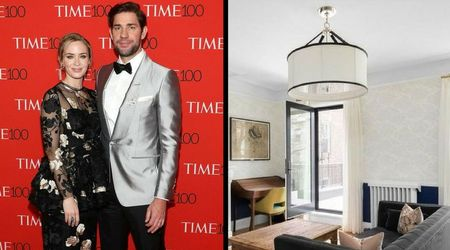 PICS! Emily Blunt and John Krasinski sell off their charming Brooklyn townhouse for $6.5 million and it's quite a stunner