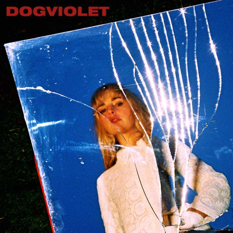Album art for Laurel's debut album 'Dogviolet'. (Source: Laurel)