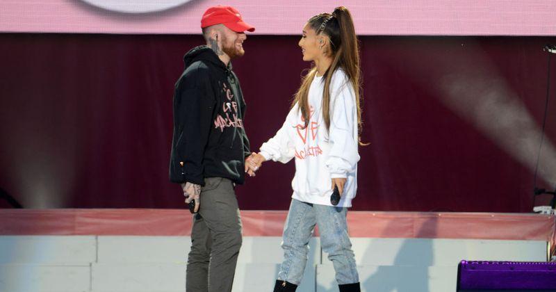 är Ariana Grande dating Mac Miller