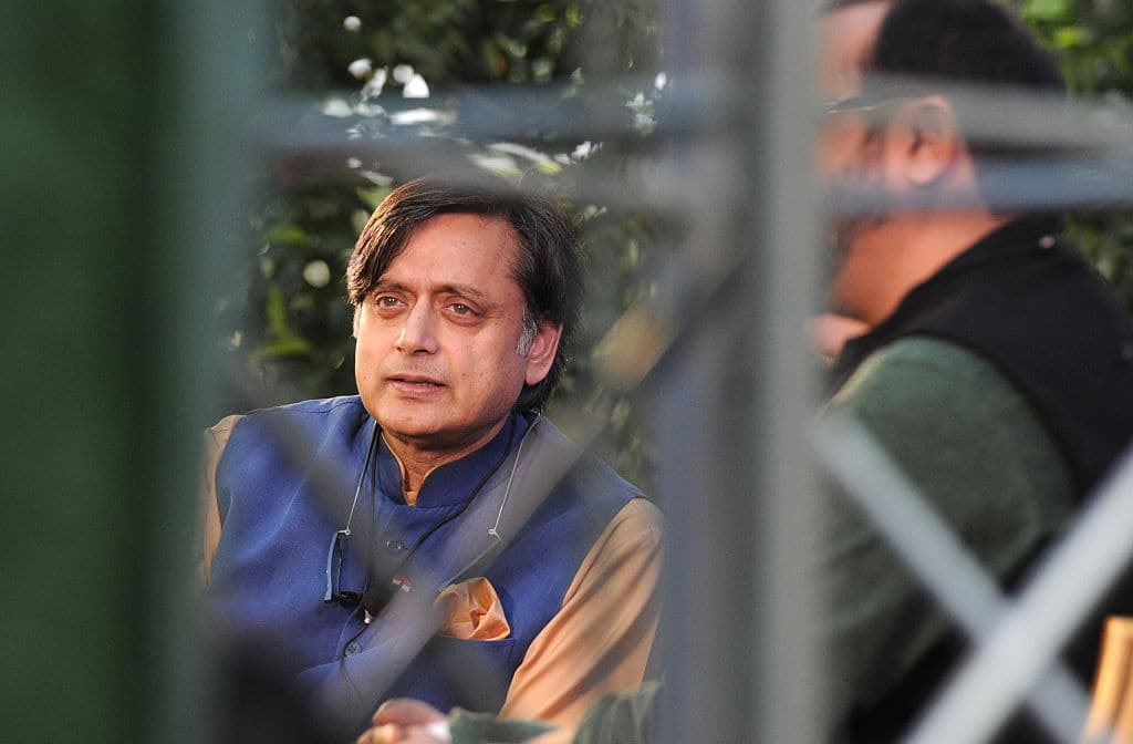 Shashi Tharoor has refuted all the charges laid against him. (Getty Images)