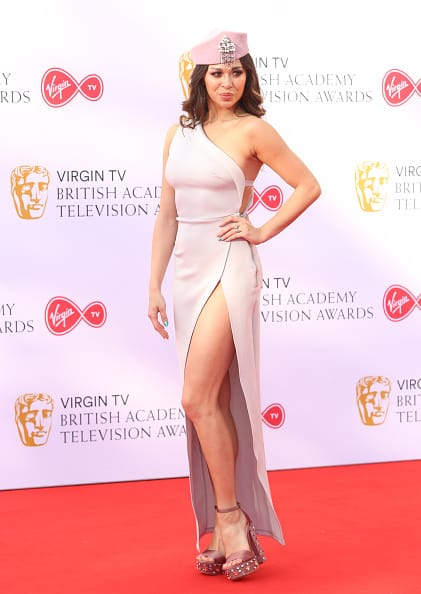 Katya Jones at the BAFTA TV Awards 2018 (Getty Images)
