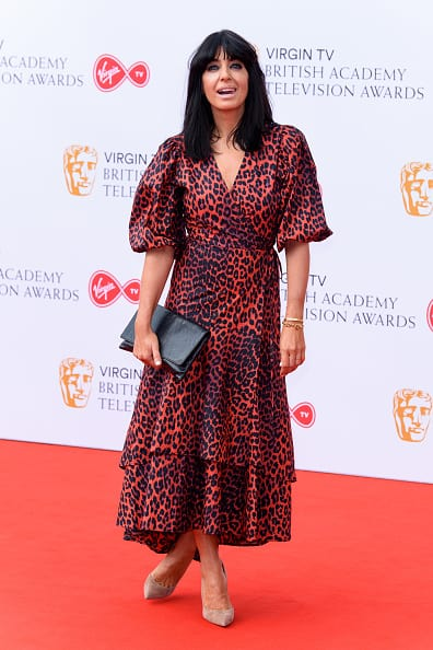 Claudia Winkleman at the BAFTA TV Awards 2018 (Getty Images)