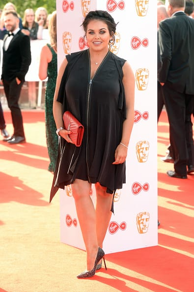Scarlett Moffatt at the BAFTA TV Awards 2018 (Getty Images)