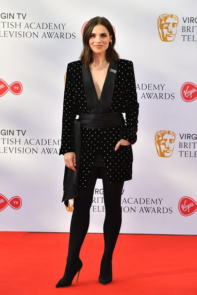 Charlotte Riley at the BAFTA TV Awards 2018 (Getty Images)