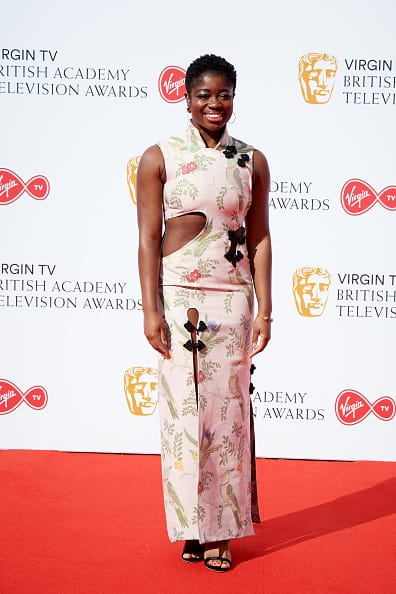 Clara Amfo at the BAFTA TV Awards 2018 (Getty Images)