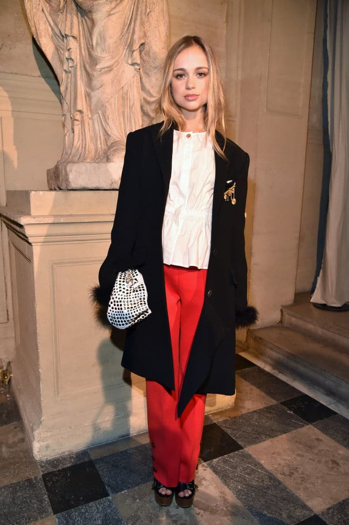 Amelia Windsor attends the Sonia Rykiel show as part of the Paris Fashion Week Womenswear Fall/Winter 2017/2018 on March 4, 2017 in Paris, France. (Photo by Pascal Le Segretain/Getty Images)