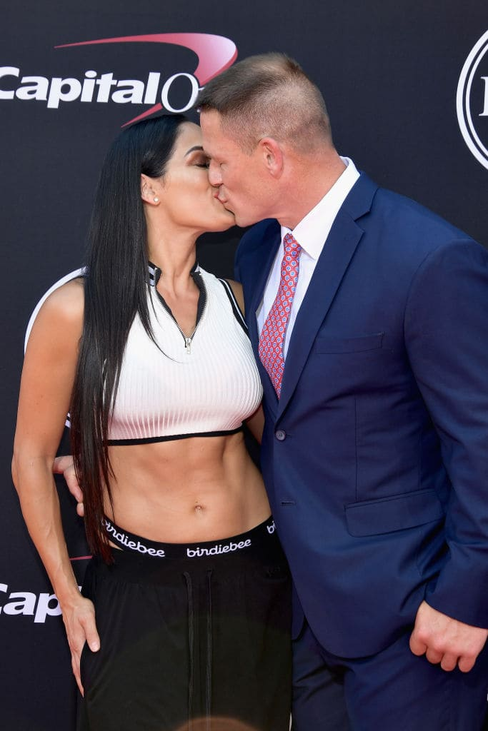 Nikki admits there is still hope for them (Photo by Matt Winkelmeyer/Getty Images)