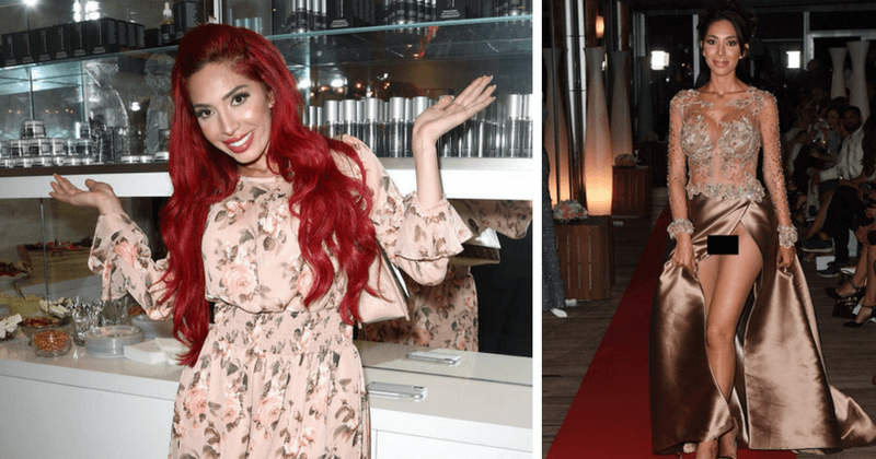 Farrah Abraham does an Arnie and goes full-on commando at Cannes