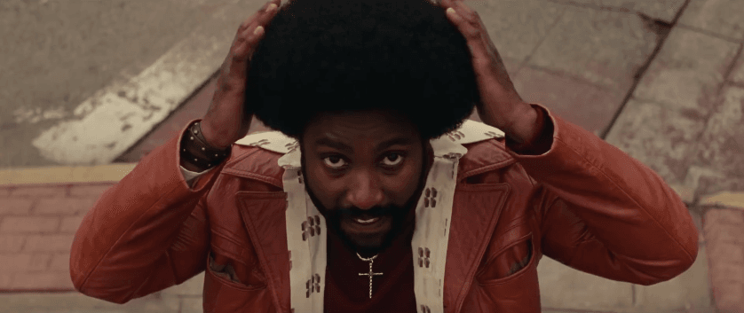 'BlacKkKlansman' has John David Washington in the titular role (Source: YouTube)