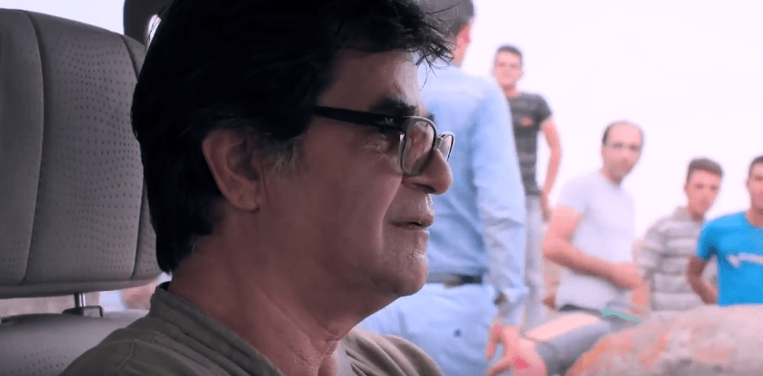 Jafar Panahi in a scene from the movie. YouTube screenshot