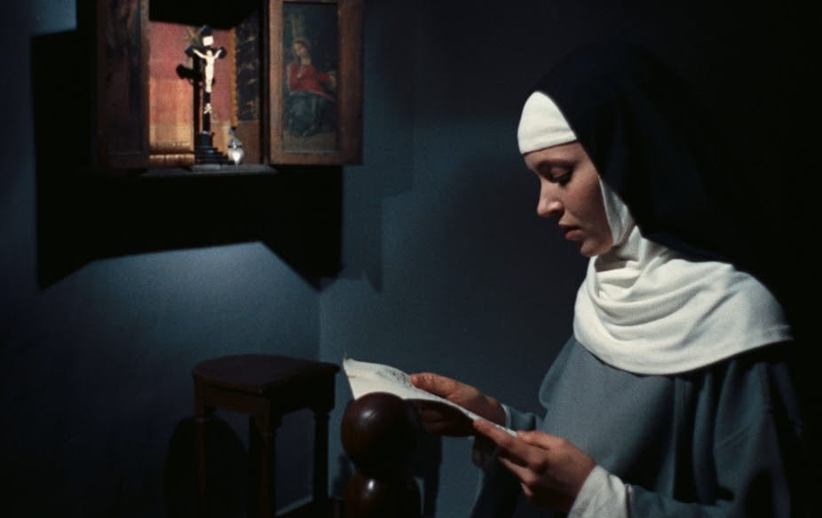 A scene from The Nun by Jaques Rivette.