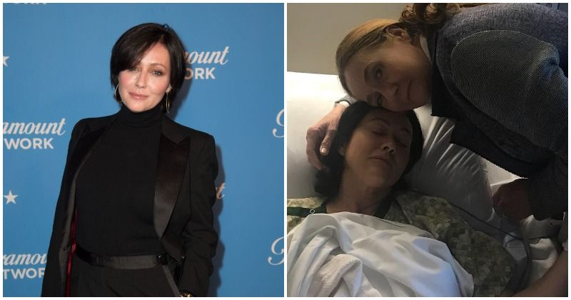 Shannen Doherty recovering well after undergoing reconstructive surgery, two years after mastectomy