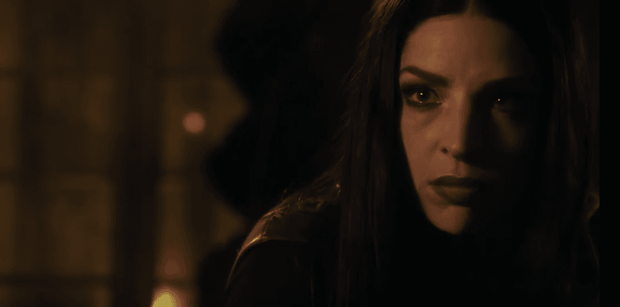Anna Hopkins in the role of Lilith from the Shadowhunters (Youtube)