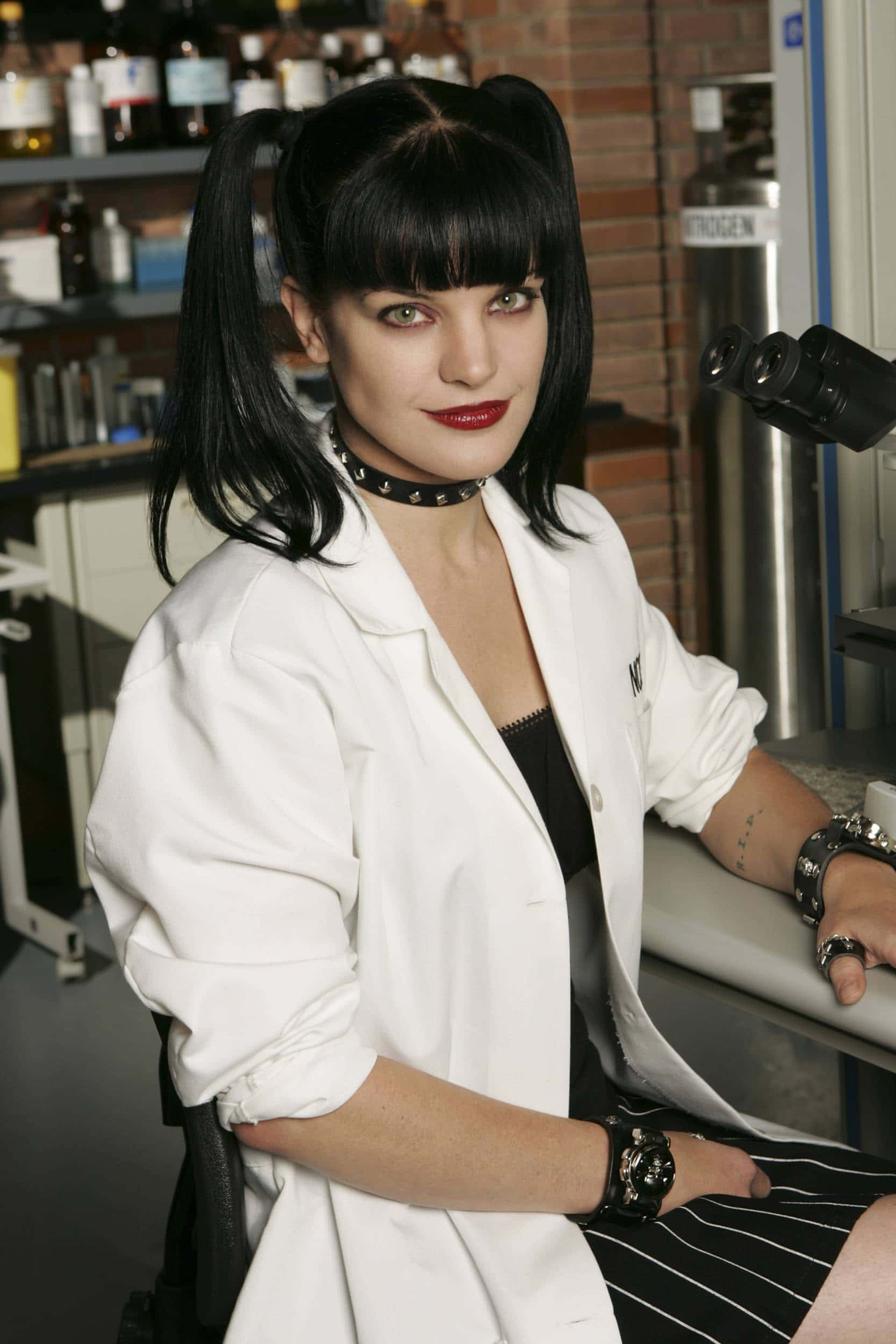 Perrette as Abby in NCIS (Twitter)