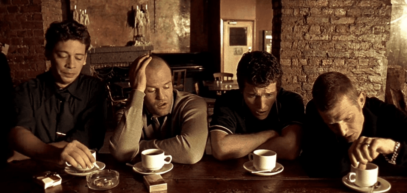 A scene from the film Lock Stock and Two Smoking Barrels (Twitter)