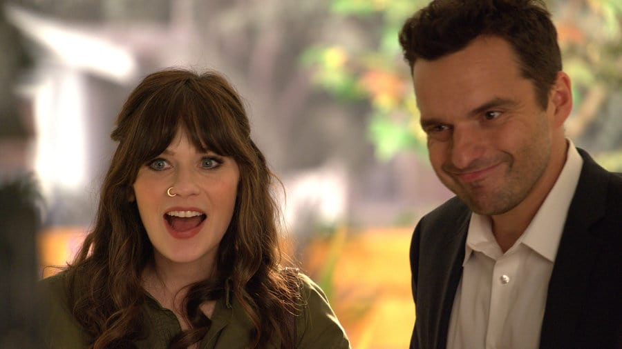 Jess and Nick on The New Girl