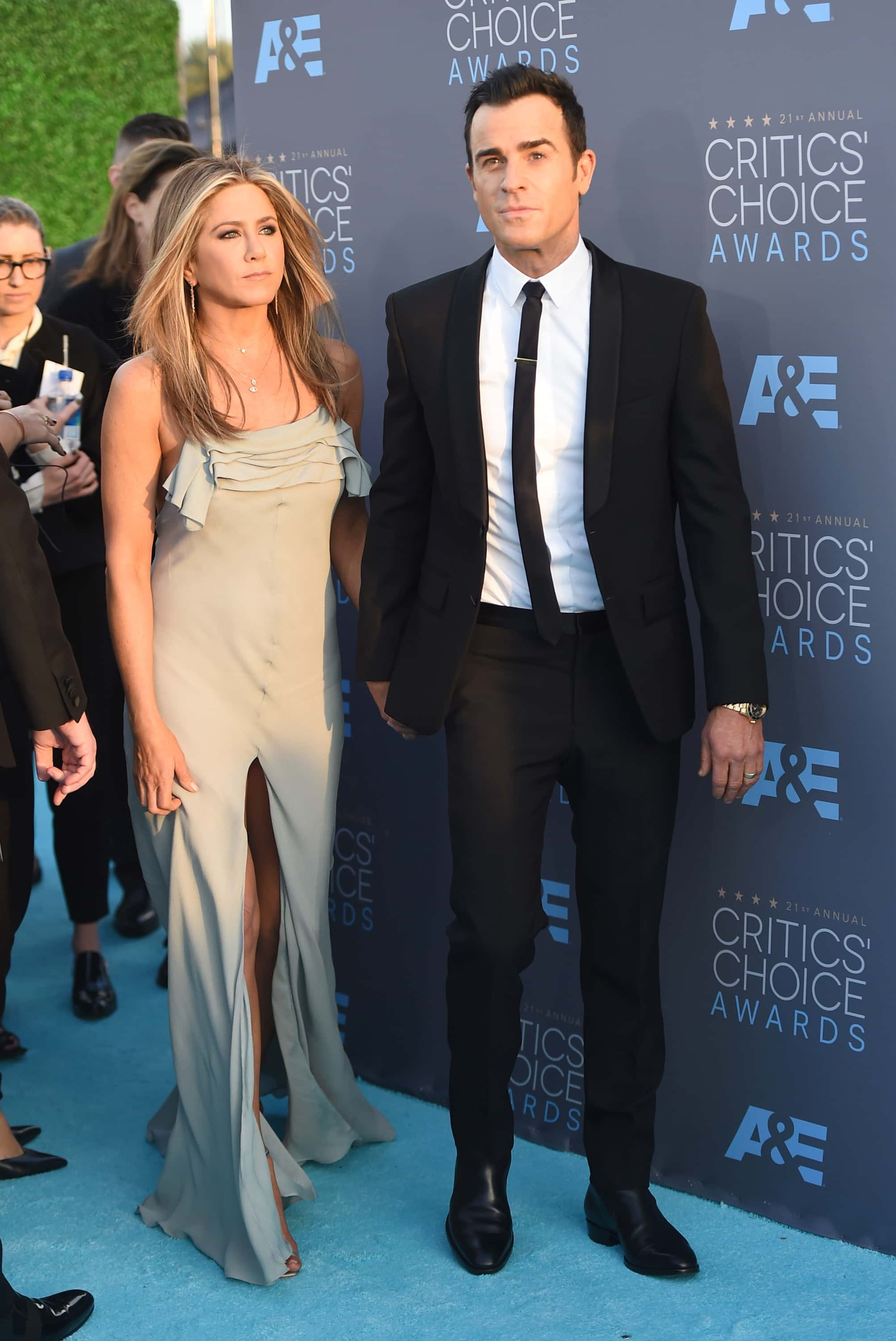 Jennifer and Justin broke up in February (Photo by Jason Merritt/Getty Images)