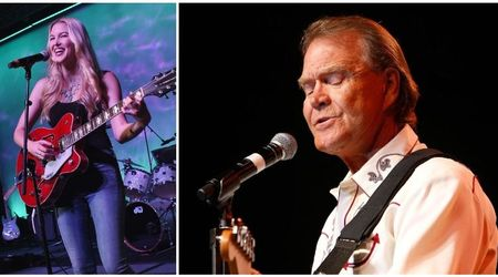 The late great Glen Campbell's daughter Ashley is keeping her father's memory alive through her amazing music