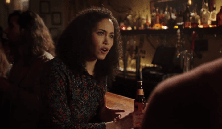 Madeleine Mantock will be playing the eldest sister, Macy (Source: YouTube)