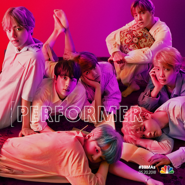 BTS will be one of many acts to take the stage at the Billboard Music Awards 2018
